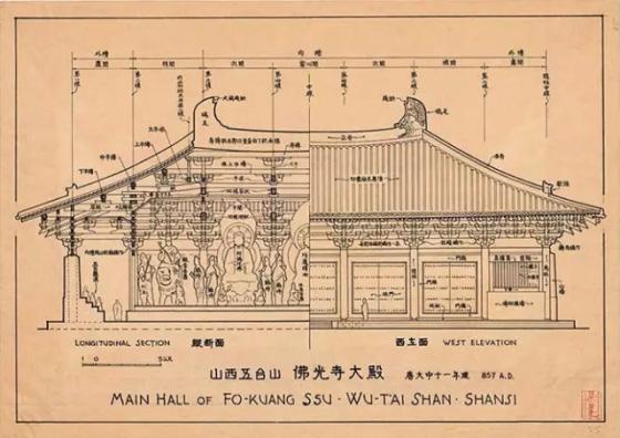建筑设计培训-梁思成 图像中国建筑史>手绘图