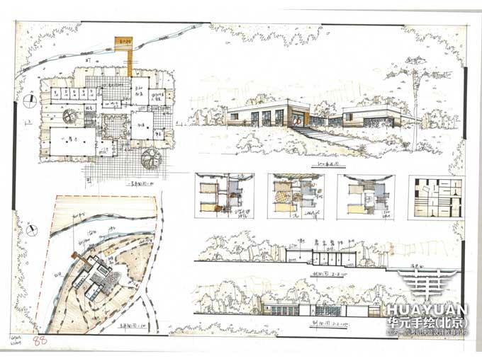 建筑快题设计高分作品