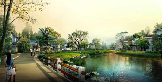 初探新古典主义园林风格在居住区景观的应用