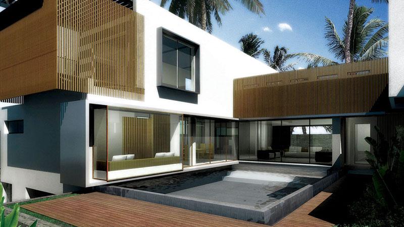 现代简约别墅建筑什么风格好看一些?
