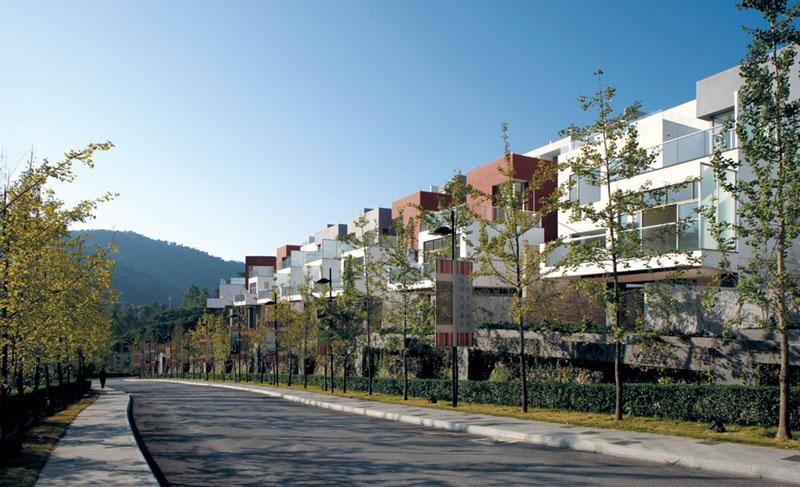 外国现代别墅建筑风格
