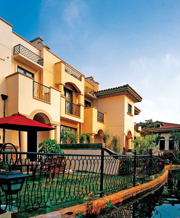 地中海风格建筑最契合成都气质