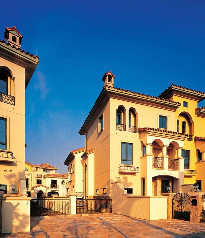 地中海别墅建筑风格及打造要点