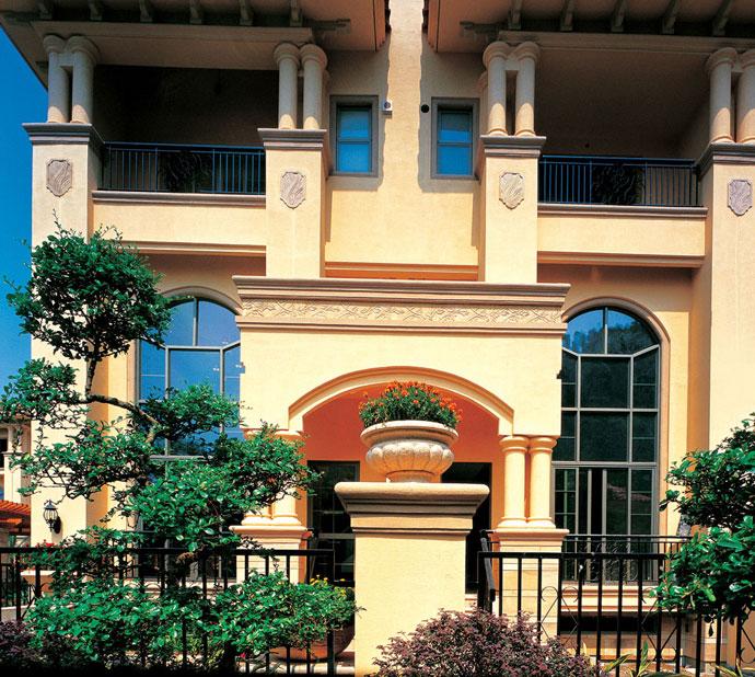 华丽大气的意大利别墅设计