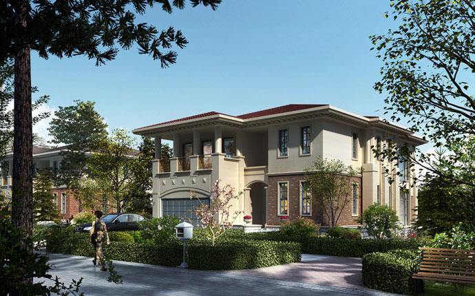 法式新古典建筑 中国精英家族墅邸