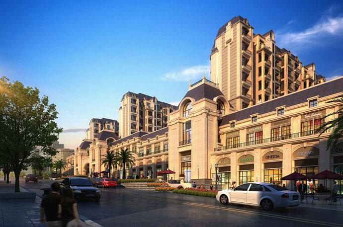 法式新古典建筑载体升级换代第二代别墅