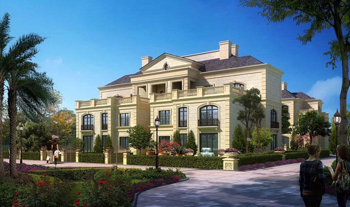 法式新古典别墅绿洲千岛花园
