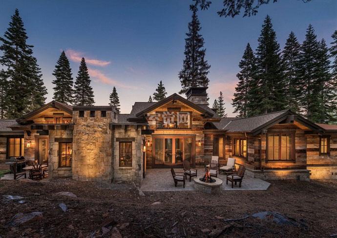 回归自然美!美式乡村风格别墅设计