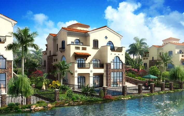 梦幻迪斯尼 荷兰大师的西班牙别墅设计