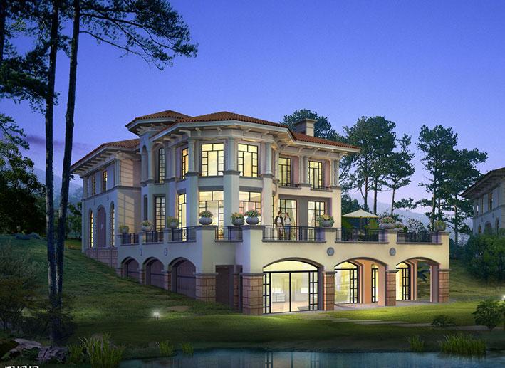 建筑大师约翰·伍重作品:Mallorca度假别墅