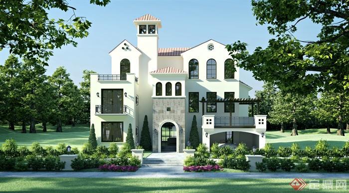 西班牙式建筑特征