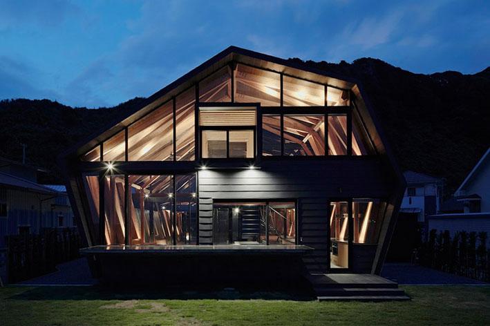温馨舒适的日式别墅设计