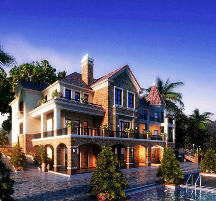 东南亚风格别墅设计的特点是什么?