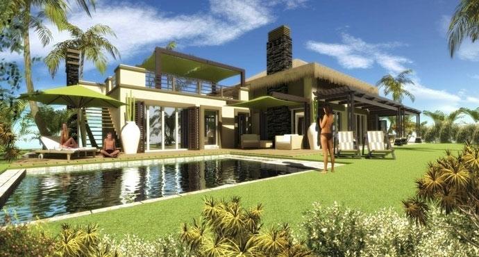 东南亚风格别墅, 打造异域风情家园