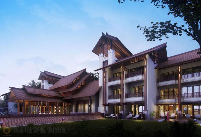 巴厘岛总督别墅酒店