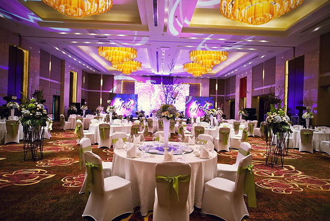婚礼宴会大厅装饰设计