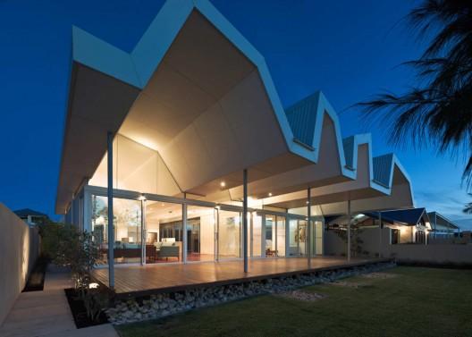 极具个性的海滨别墅外观设计欣赏