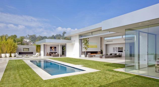 美国比佛利山庄别墅设计