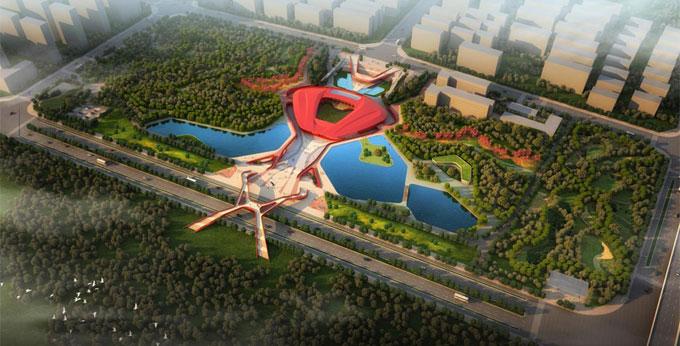 运用BIM技术设计得法拉利中国展览馆