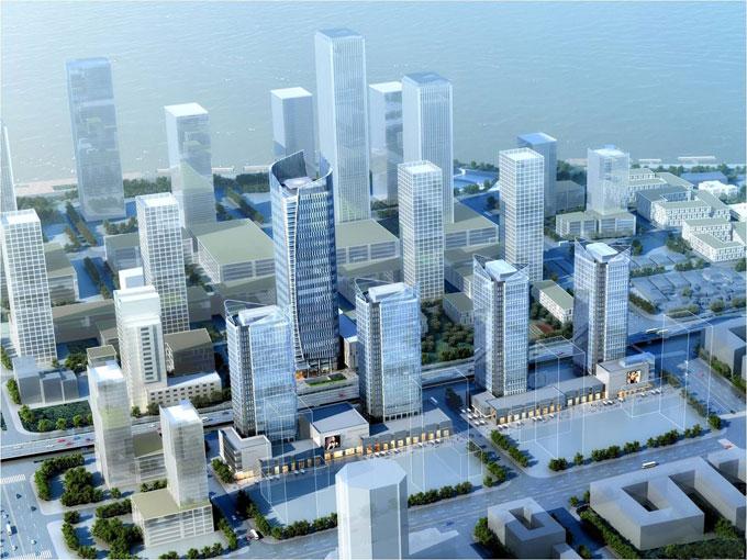 南京长航国际航运中心项目BIM技术