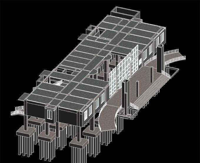 实战BIM土建安装建模成果展示