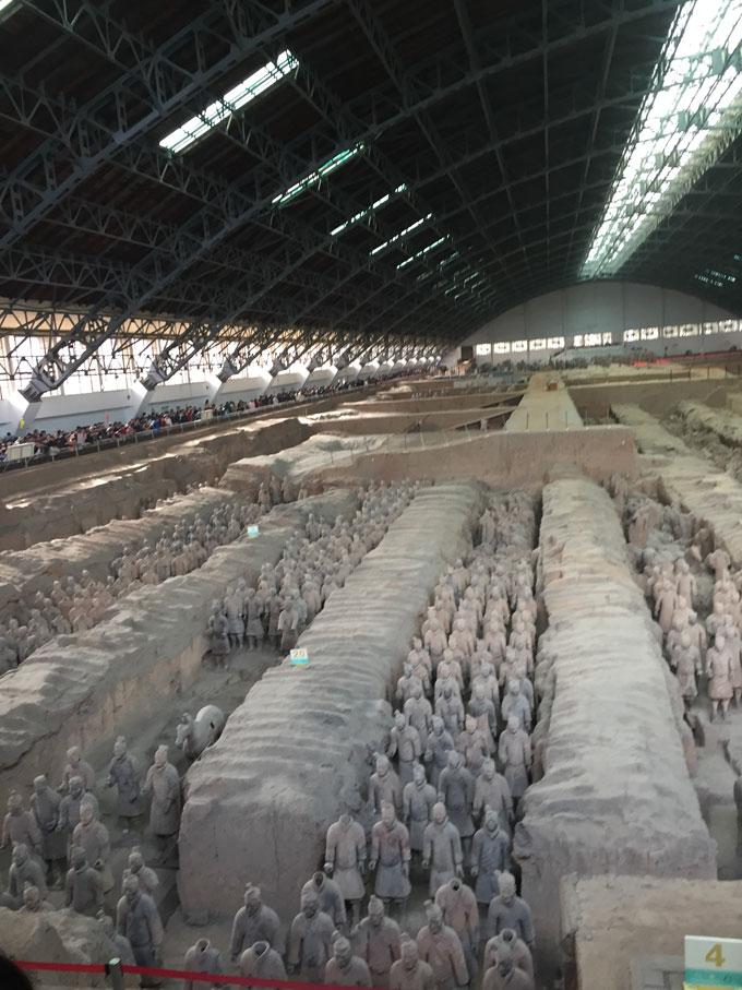 西安兵马俑建筑规划设计考察