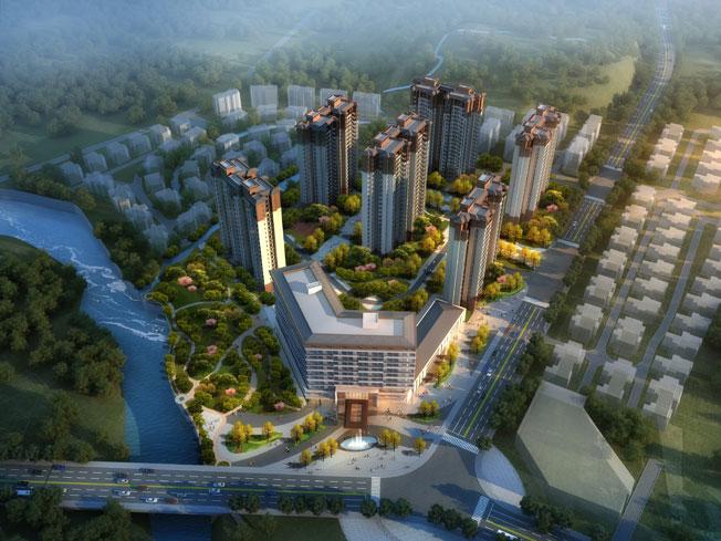 御水湾建筑规划设计