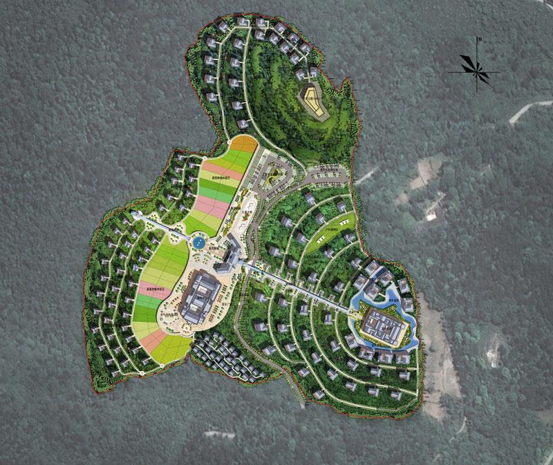 云龙寨民宿建筑规划设计