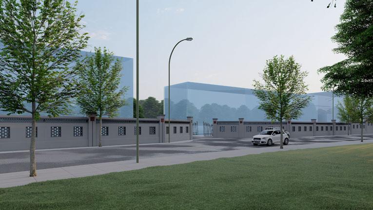 邻水安全改造Lumion技术建筑方案第二版效果鉴赏