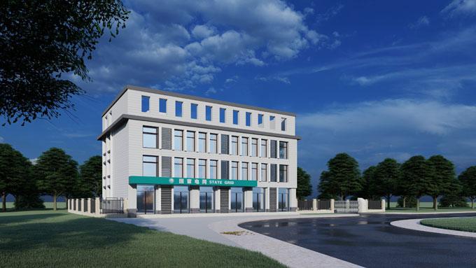 大足小办公楼建筑方案设计