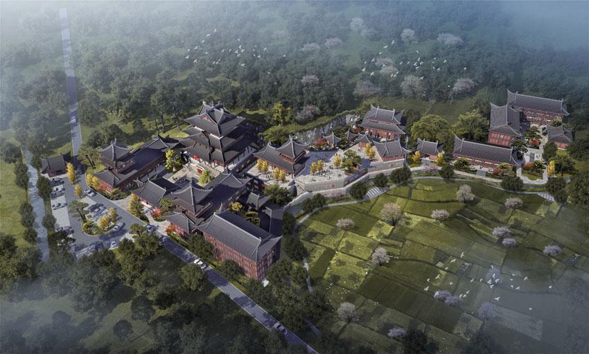 慧福(会佛)寺恢复重建及改扩建工程项目
