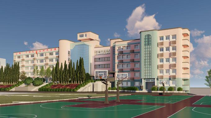 重庆市实验中学外立面改造设计